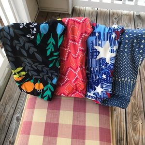 4 LulaRoe Leggings One Size